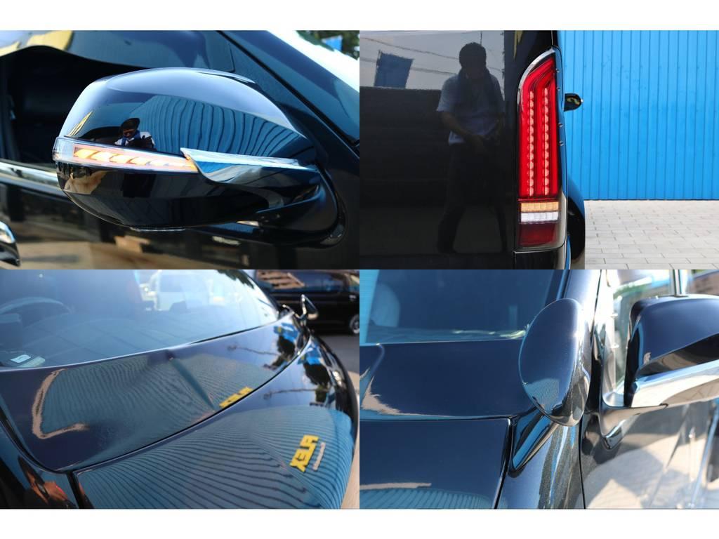 新品 FLEXアルティメイトLEDテールランプ・レヴィーアドアミラーウインカー・スタイリッシュミラー