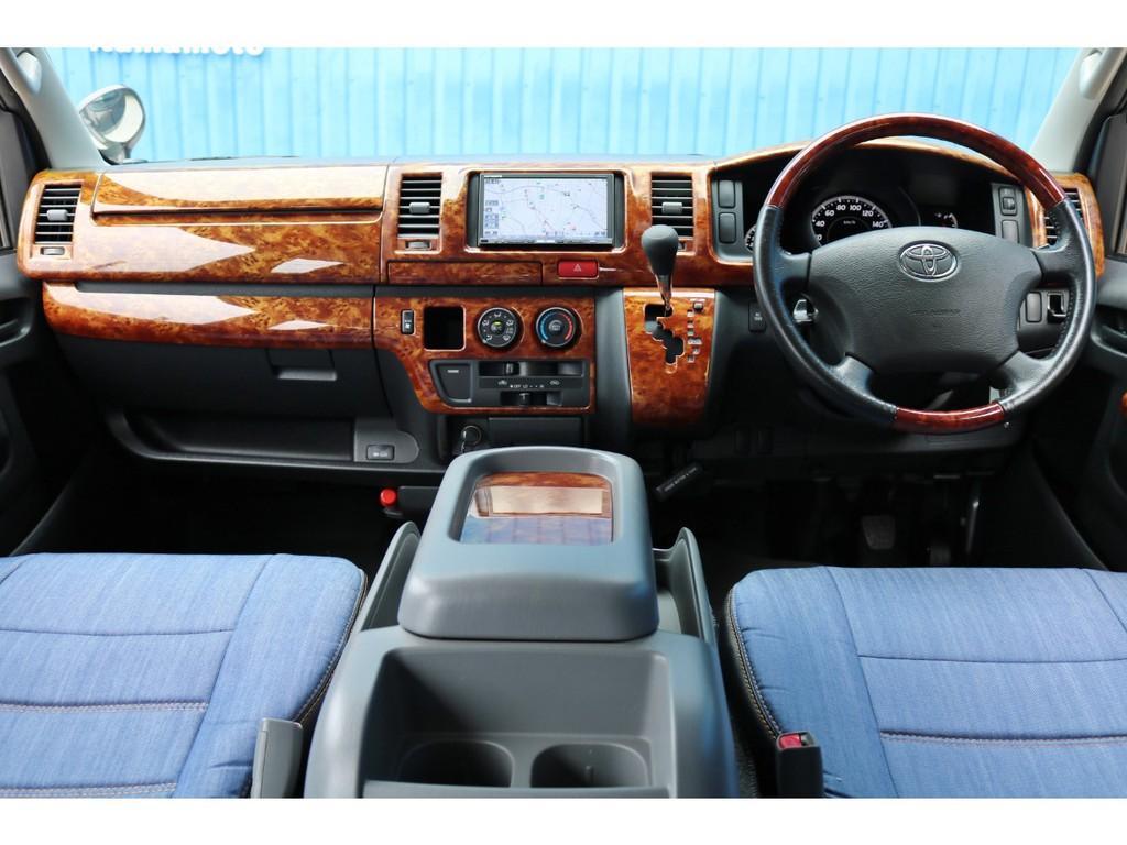 平成21年式 レジアスエース S-GL 2000cc ガソリン 2WD 走行45,500km 車検1年受け渡し リアシートベルト付き!