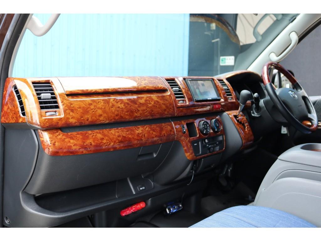 新車時オプションの助手席エアバッグ・100Vコンセント付き!