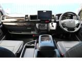 未登録新車 ハイエース ワゴン GL 2700cc ガソリン 2WD 11型アルパインフローティングBIGXナビ