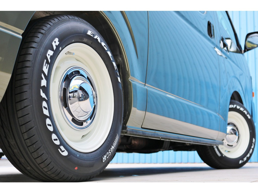 新品クリムソンディーンクロスカントリー16インチアルミホイール&新品グッドイヤーナスカータイヤ!