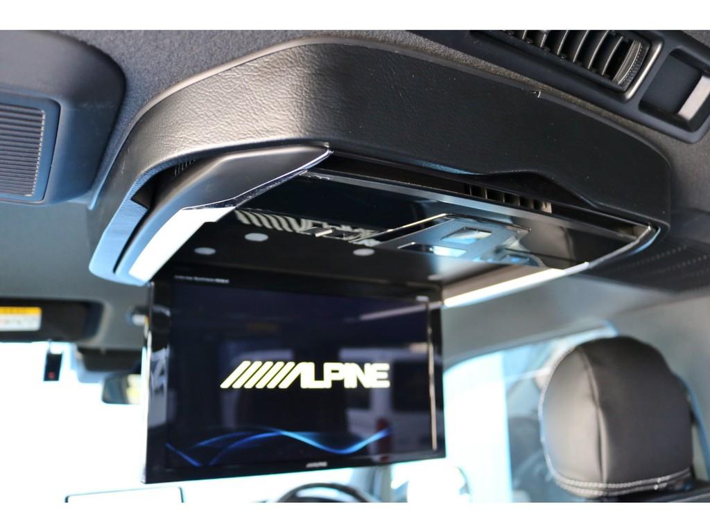 アルパイン12.8インチ大画面フリップダウンモニター!