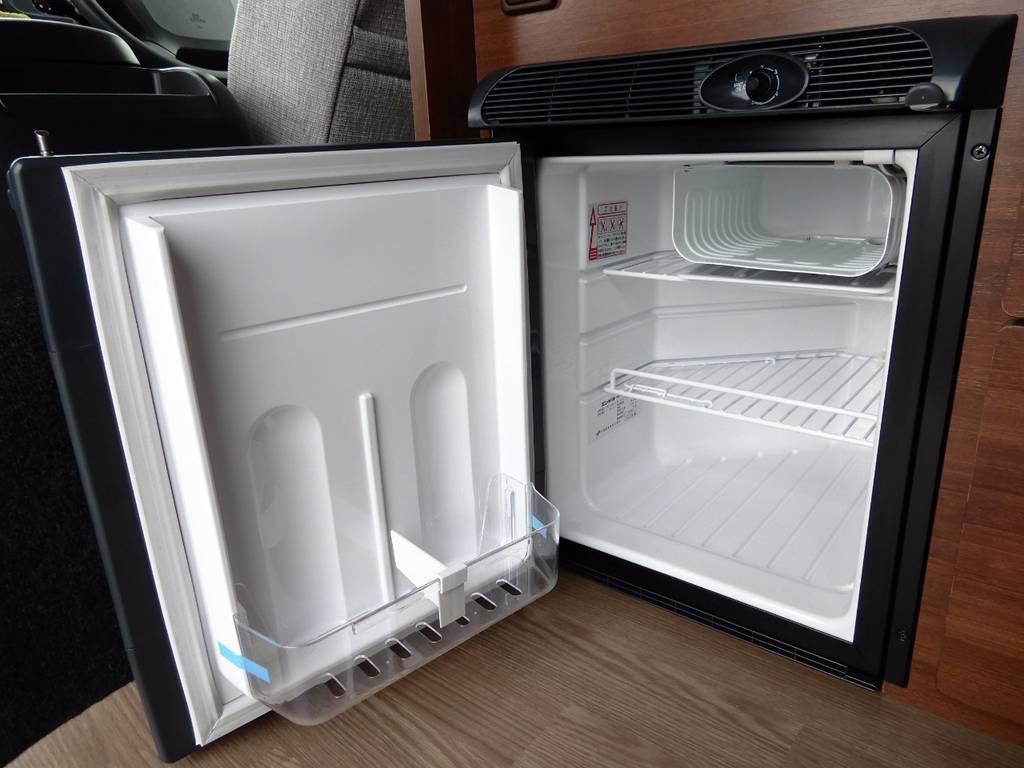 エンゲル 40L冷蔵庫完備!