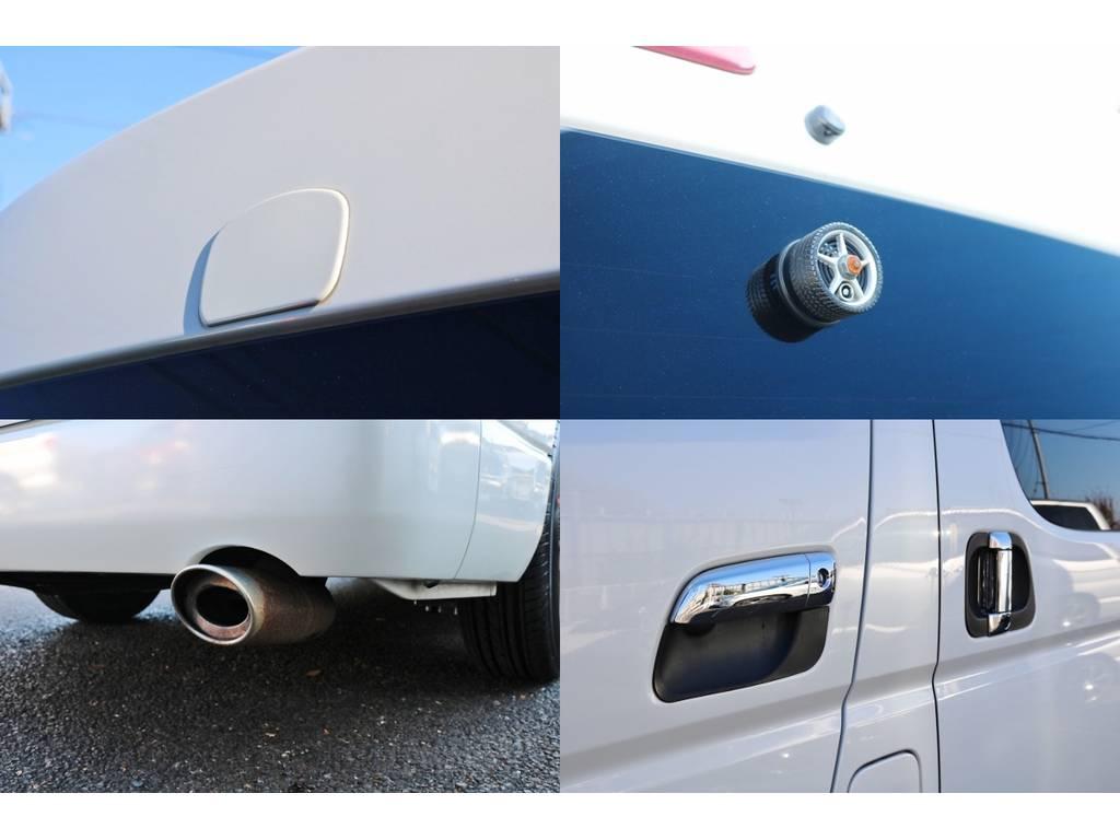 細かい所までカスタムされてます♪ | トヨタ ハイエース 2.7 GL ロング ミドルルーフ ベットキット・ナビ・モニター付き