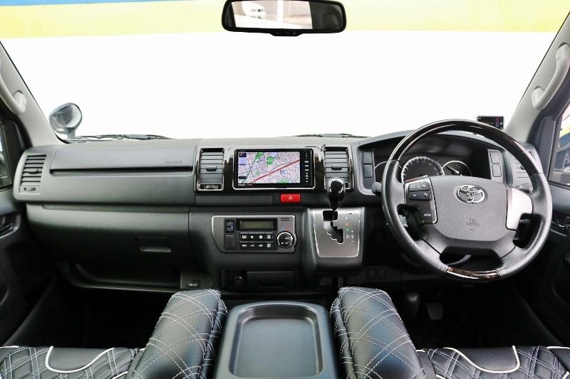 特別仕様車ダークプライムには特別な装備が豊富です♪ | トヨタ ハイエースバン 2.0 スーパーGL ダークプライム ロングボディ