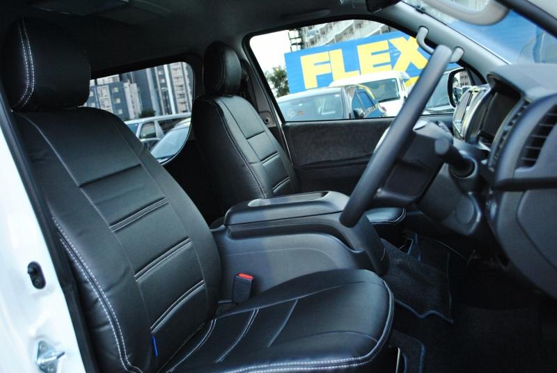 広くて使いやすいコックピット♪ | トヨタ ハイエース 2.7 GL ロング ミドルルーフ TSS付き