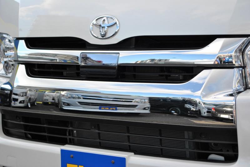 トヨタセーフティーセンスが付いてます! | トヨタ ハイエース 2.7 GL ロング ミドルルーフ 4WD TSS付シートアレンジR1