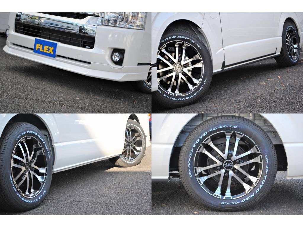 ZERObreak 17インチアルミはいてます! | トヨタ ハイエース 2.7 GL ロング ミドルルーフ 4WD TSS付シートアレンジR1