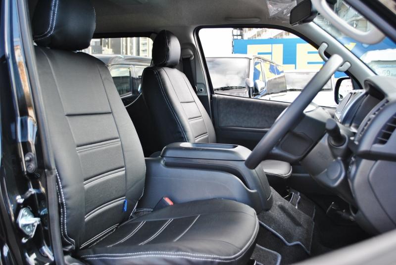 広々とした車内です♪ | トヨタ ハイエース 2.7 GL ロング ミドルルーフ セーフティー付き Ver1施工