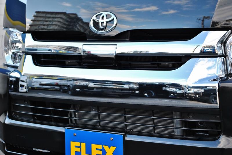 安心のTSS付き♪   トヨタ ハイエース 2.7 GL ロング ミドルルーフ セーフティー付き Ver1施工