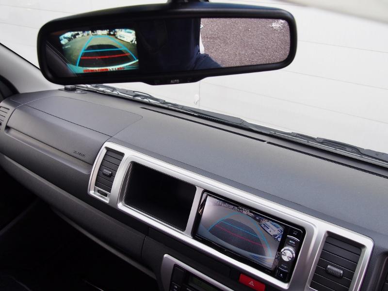 バックカメラはナビと連動しております♪ | トヨタ ハイエース 2.7 GL ロング ミドルルーフ TSS付 ナビパッケージ