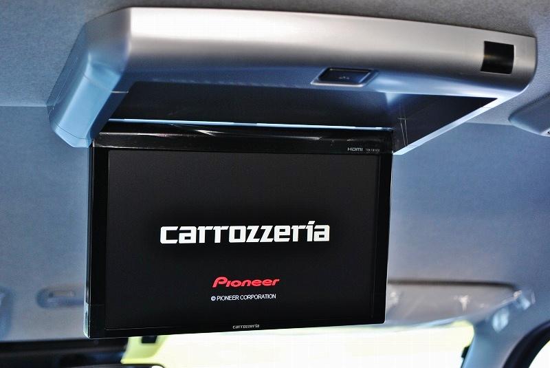 カロッツェリア製フリップダウンモニター付き♪ | トヨタ ハイエース 2.7 GL ロング ミドルルーフ TSS付 ナビパッケージ