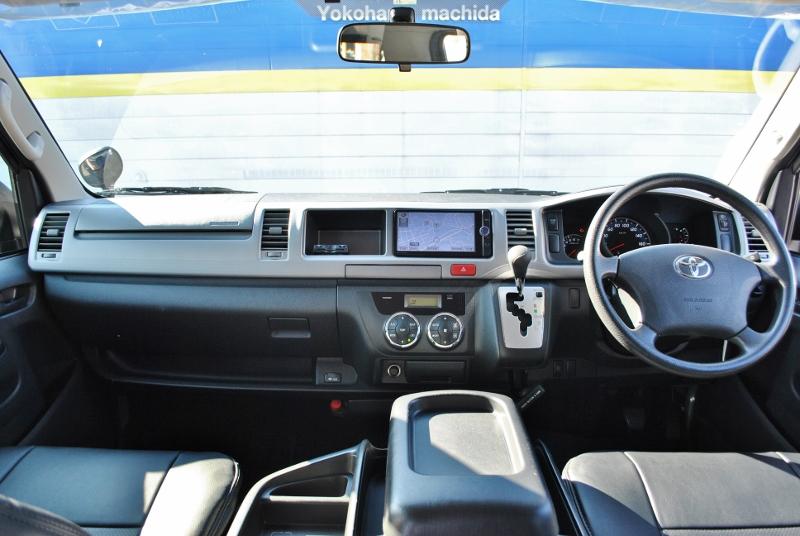 機能の充実した3型コックピットです!   トヨタ ハイエース 2.7 GL ロング ミドルルーフ 4WD クラシックリノカ オークブラウンパール