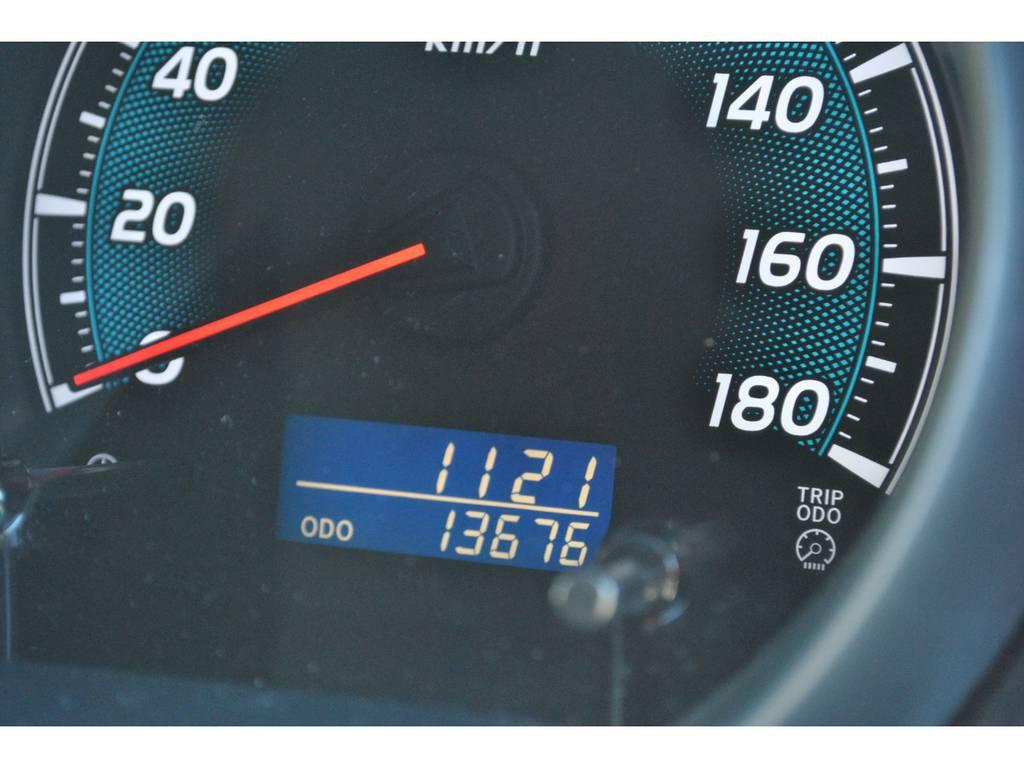 低走行の1万キロ台です。   トヨタ ハイエース 2.7 GL ロング ミドルルーフ 4WD クラシックリノカ オークブラウンパール