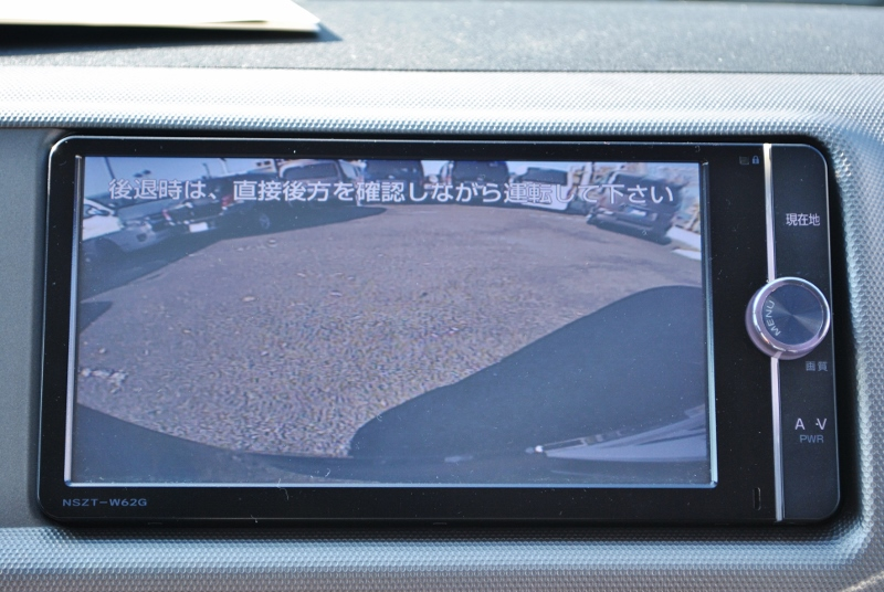 夜間も安心のバックカメラ付き! | トヨタ ハイエース 2.7 GL ロング ミドルルーフ 4WD クラシックリノカ オークブラウンパール