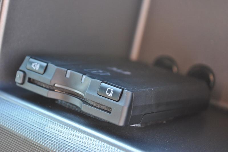 視界の邪魔にならない場所にETC車載器を設置しております! | トヨタ ハイエース 2.7 GL ロング ミドルルーフ 4WD クラシックリノカ オークブラウンパール