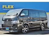 ♪未登録新車♪ハイエースバン S-GL ダークプライムⅡ 2WD ディーゼル 2800CC Ver4シートアレンジ♪