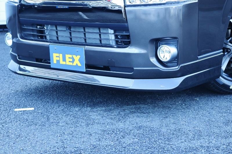 オリジナルデルフィーノフロントスポイラー付き♪   トヨタ ハイエースバン 2.0 スーパーGL 50TH アニバーサリー リミテッド ロングボディ パワスラ付 Ver4ベットキット