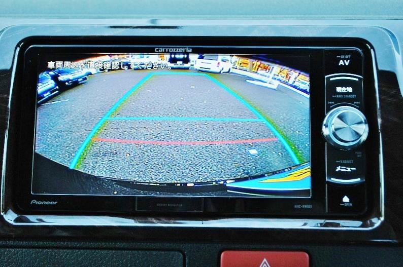 バックカメラはナビと連動しております!!   トヨタ ハイエースバン 2.0 スーパーGL 50TH アニバーサリー リミテッド ロングボディ パワスラ付 Ver4ベットキット