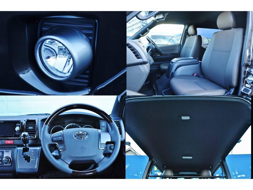 特別仕様車の標準装備が満載♪   トヨタ ハイエースバン 2.0 スーパーGL 50TH アニバーサリー リミテッド ロングボディ パワスラ付 Ver4ベットキット