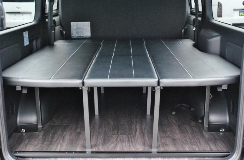 広大な荷室です! | トヨタ ハイエースバン 2.0 スーパーGL ダークプライムⅡ ロングボディ PS無 ARRANGE FU-N