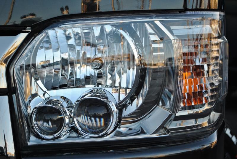 特別仕様車はLEDヘッドランプ標準装備で夜間もしっかり見えます! | トヨタ ハイエースバン 2.0 スーパーGL ダークプライムⅡ ロングボディ PS無 ARRANGE FU-N