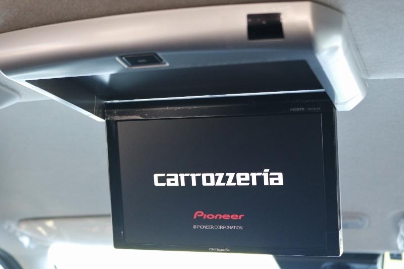 ドライブには必須なフリップダウンモニター♪ | トヨタ ハイエース 2.7 GL ロング ミドルルーフ TSS付 シートアレンジ AS