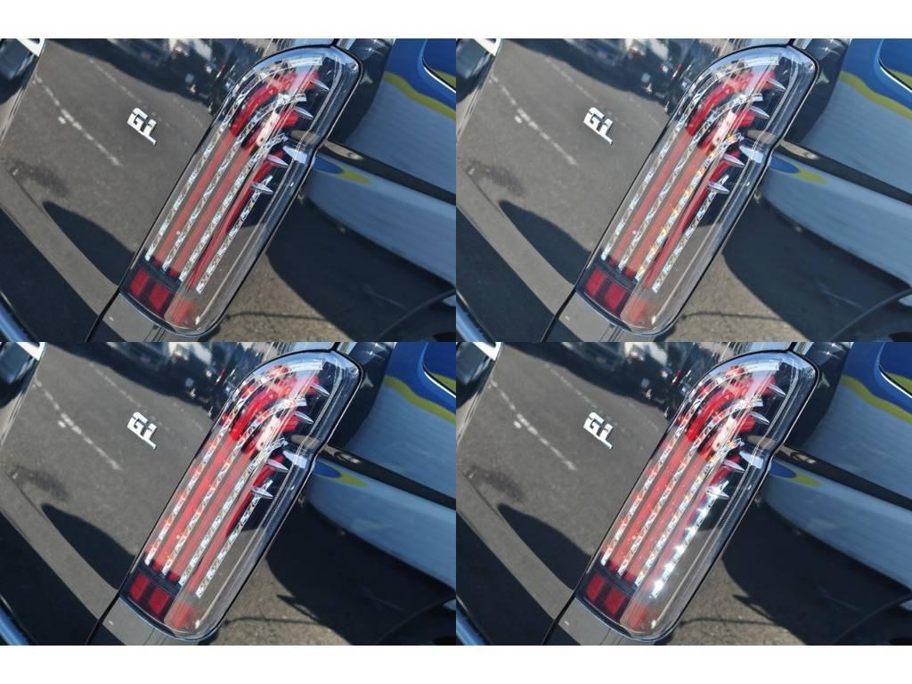 カッコイイオリジナルテールランプ♪煌♪ | トヨタ ハイエース 2.7 GL ロング ミドルルーフ TSS付 シートアレンジ AS