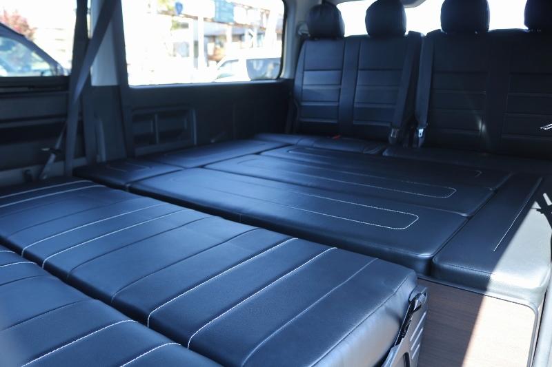 車中泊には十分な広さです♪ | トヨタ ハイエース 2.7 GL ロング ミドルルーフ TSS付 シートアレンジ AS