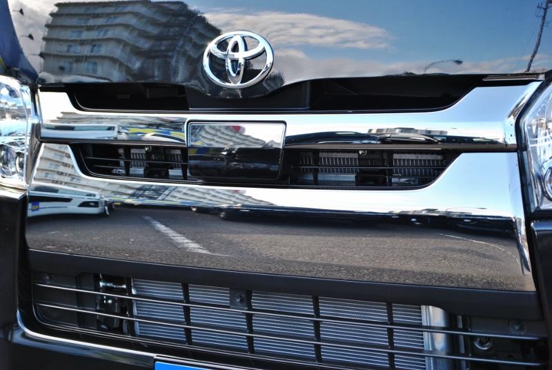 安心のTSS付き♪ | トヨタ ハイエースバン 2.8 スーパーGL ダークプライムⅡ ロングボディ ディーゼルターボ 4WD Ver4 小窓あり