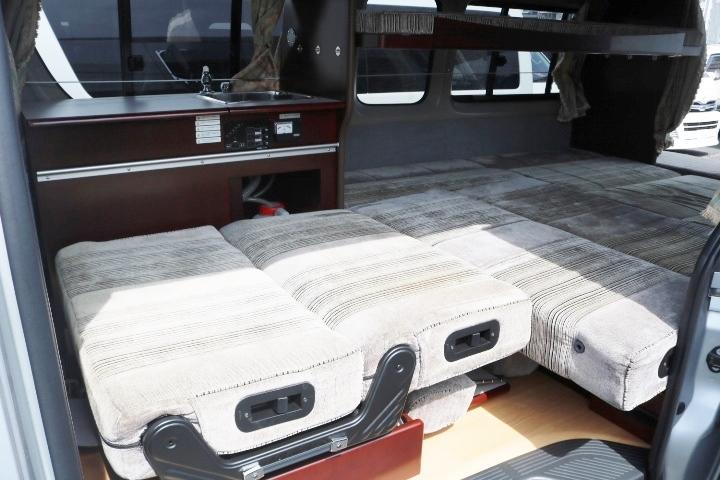 フルフラットで広いベッドになります!その他写真はGOOで掲載!