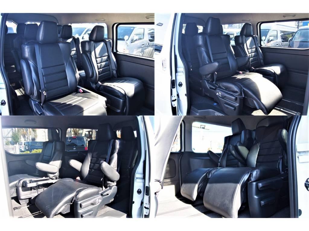 広々と使える10人乗り♪ | トヨタ ハイエース 2.7 GL ロング ファインテックツアラー 4WD 4WDファインテックツアラー