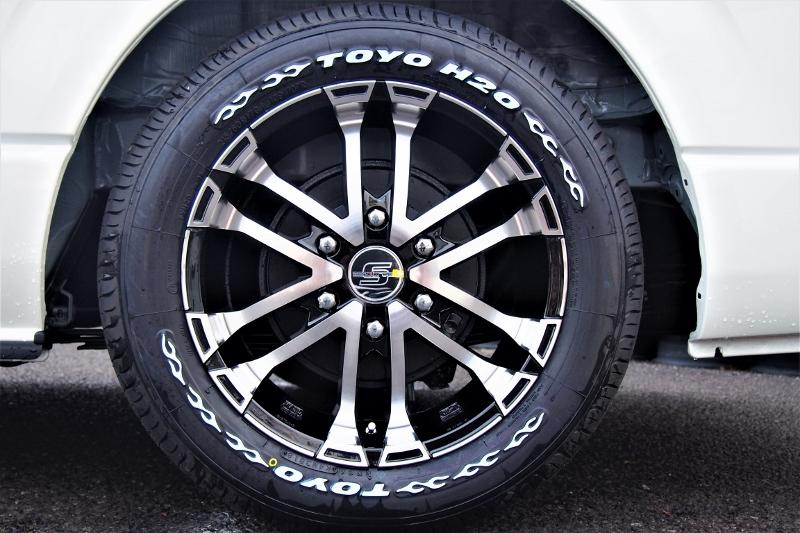 ゼロブレイクS 17インチアルミホイール | トヨタ ハイエース 2.7 GL ロング ファインテックツアラー 4WD 4WDファインテックツアラー