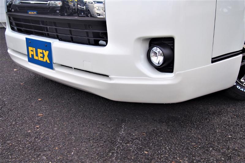 大人なイメージのクリーンルックスポイラー!! | トヨタ ハイエース 2.7 GL ロング ファインテックツアラー 4WD 4WDファインテックツアラー