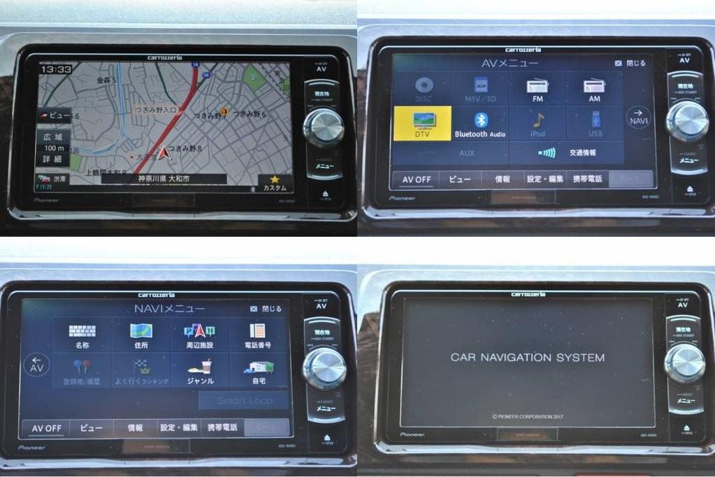 操作しやすいカロッツェリア製ナビ♪   トヨタ ハイエースバン 2.8 スーパーGL 50TH アニバーサリー リミテッド ロングボディ ディーゼルターボ 4WD TSS付 パワスラ付き