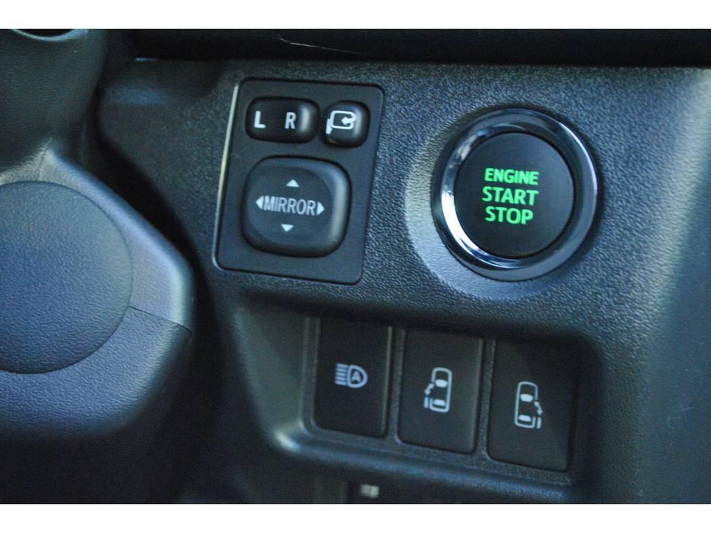 メーカーオプションのスマートエントリー&スタートシステム付き♪ | トヨタ ハイエースバン 2.8 スーパーGL 50TH アニバーサリー リミテッド ロングボディ ディーゼルターボ 4WD TSS付 パワスラ付き