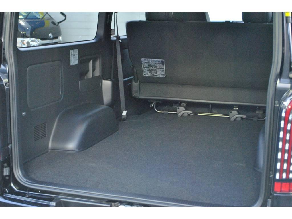 広々とした荷室です♪ | トヨタ ハイエースバン 2.8 スーパーGL 50TH アニバーサリー リミテッド ロングボディ ディーゼルターボ 4WD TSS付 パワスラ付き