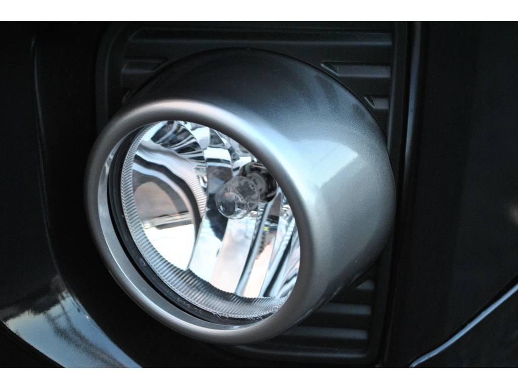 50th限定フォグランプ♪ | トヨタ ハイエースバン 2.8 スーパーGL 50TH アニバーサリー リミテッド ロングボディ ディーゼルターボ 4WD TSS付 パワスラ付き