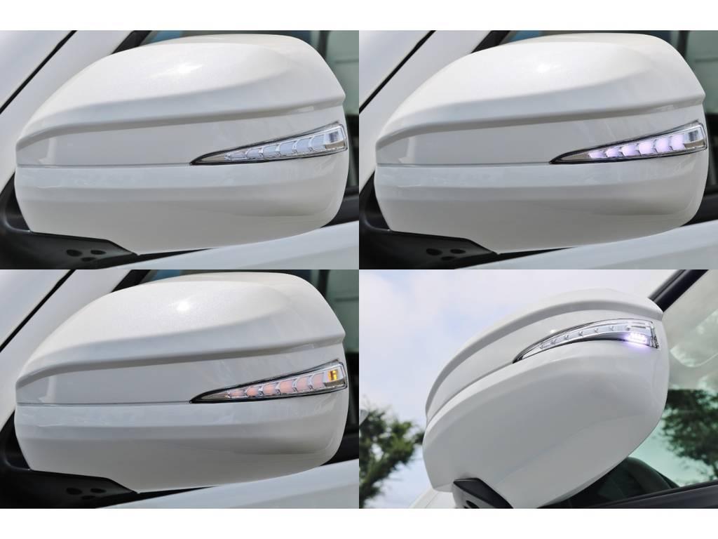 アベスト ウィンカーミラーは流れるウィンカーで横からの視認性が良くなります。