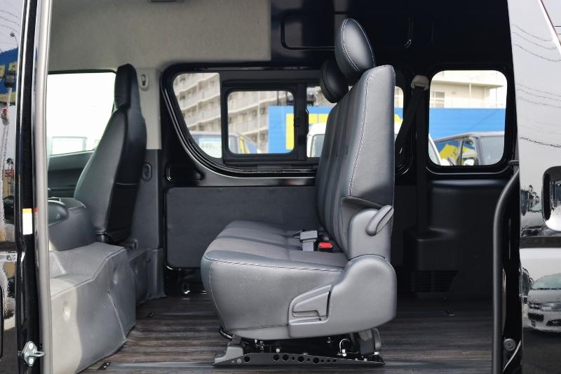 スライドレール搭載! | トヨタ ハイエースバン 2.8 DX ワイド スーパーロング ハイルーフ GLパッケージ ディーゼルターボ 4WD S-GLシート スライドレール WAC
