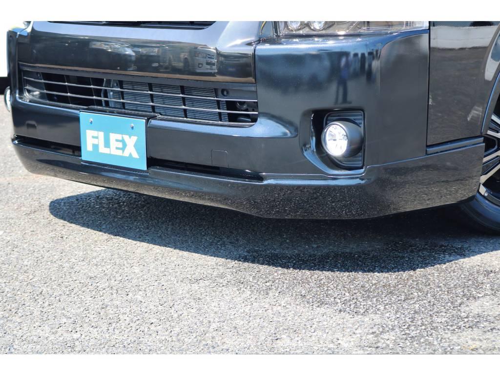 415コブラ クリーンルック3フロントスポイラー! | トヨタ ハイエース 2.7 GL ロング ミドルルーフ TSS付 GDアイズ仕様