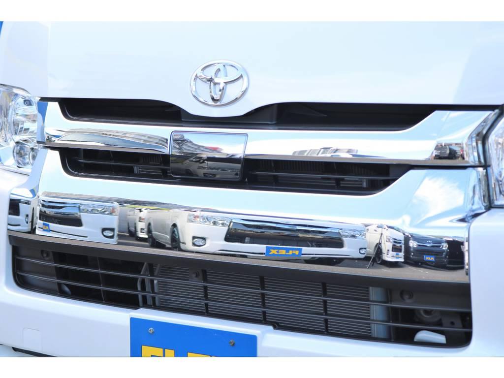 安心・安全のTSS付! | トヨタ ハイエース 2.7 GL ロング ミドルルーフ 4WD セーフティー付き ナビ・エアロPKG