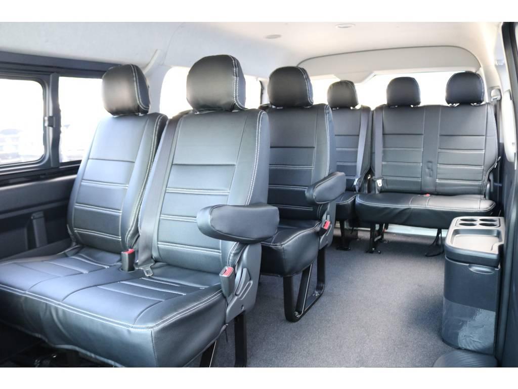 10人乗りなのでお友達とのお出かけに大抜擢! | トヨタ ハイエース 2.7 GL ロング ミドルルーフ 4WD セーフティー付き ナビ・エアロPKG