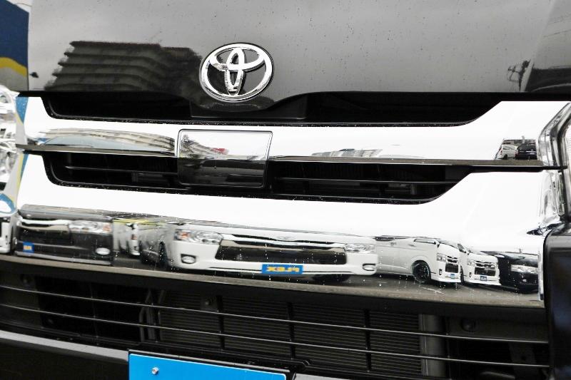 安心・安全なTSS付き! | トヨタ ハイエース 2.7 GL ロング ミドルルーフ 4WD 現行ハイエースワゴン 4WD 車検付き