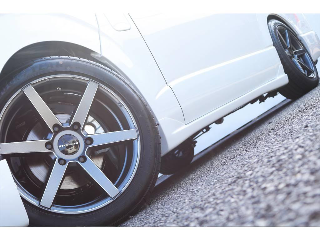 415コブラバッドラッカー18インチアルミ♪   トヨタ ハイエースバン 2.8 スーパーGL ダークプライムⅡ ロングボディ ディーゼルターボ 特別仕様車 コブラフルエアロ