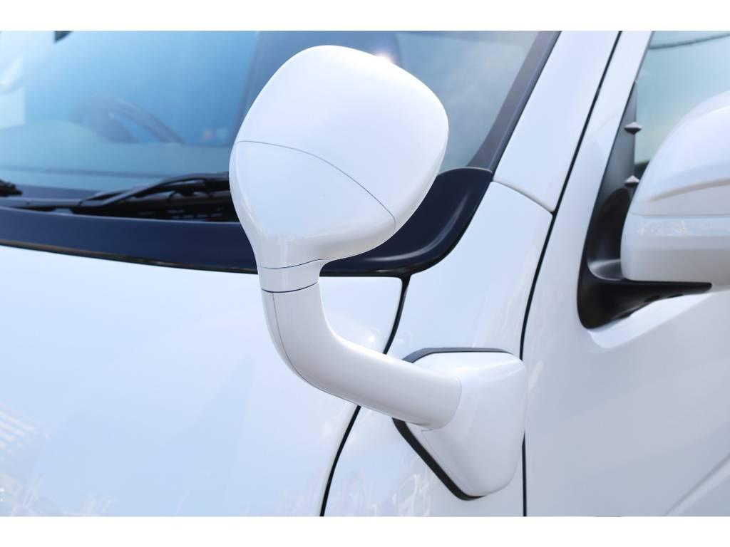 フロントアンダーミラーはボディと同色にしてあります♪   トヨタ ハイエースバン 2.8 スーパーGL ダークプライムⅡ ロングボディ ディーゼルターボ 特別仕様車 コブラフルエアロ