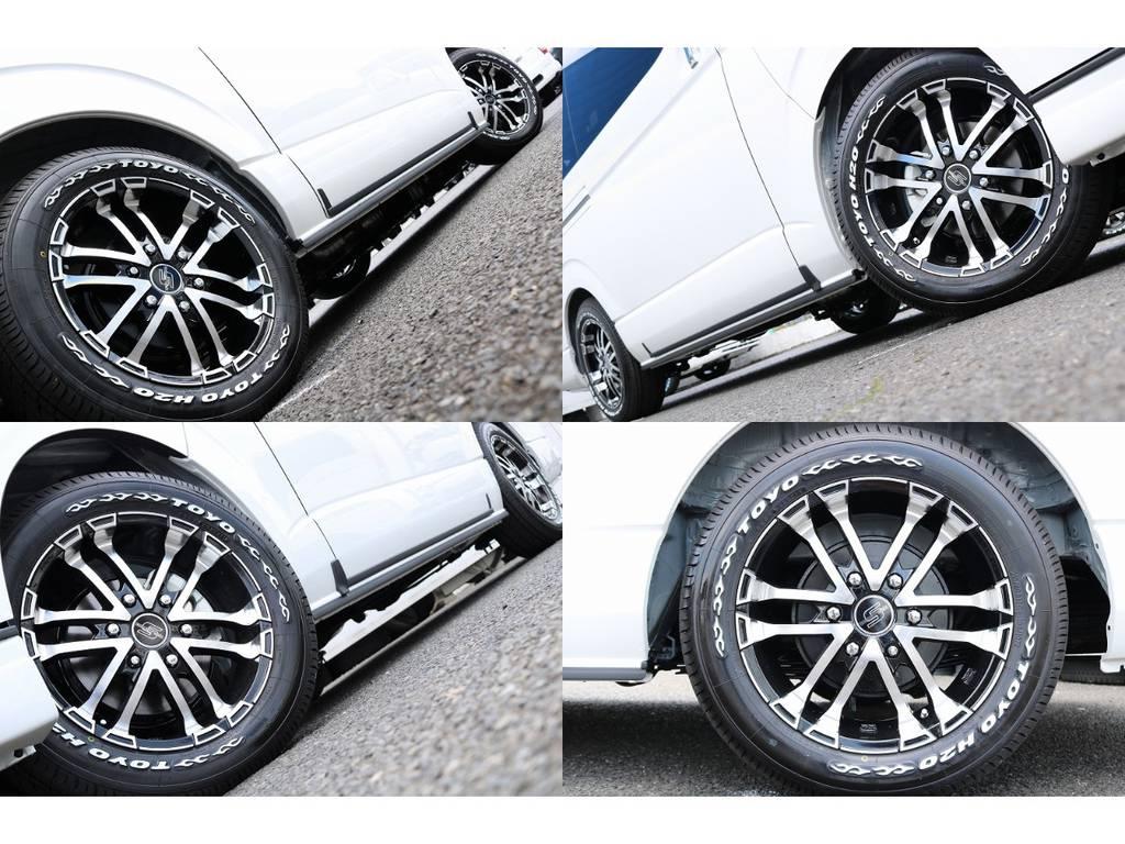 ZERO BREAK S 17インチ&TOYO H20の組み合わせ! | トヨタ ハイエース 2.7 GL ロング ファインテックツアラー 4WD キャプテンシート装着ファインテックツアラ