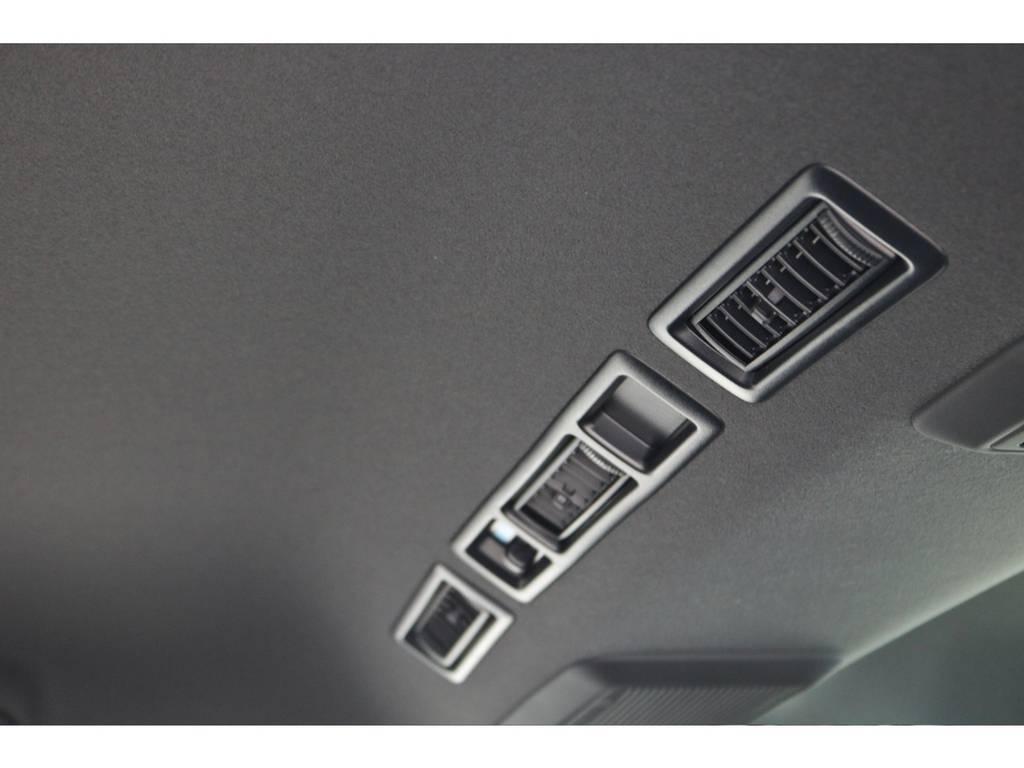 特別仕様車なので天井もブラックになりますので引き締まって見えます! | トヨタ ハイエースバン 2.0 スーパーGL ダークプライムⅡ ロングボディ 小窓付き
