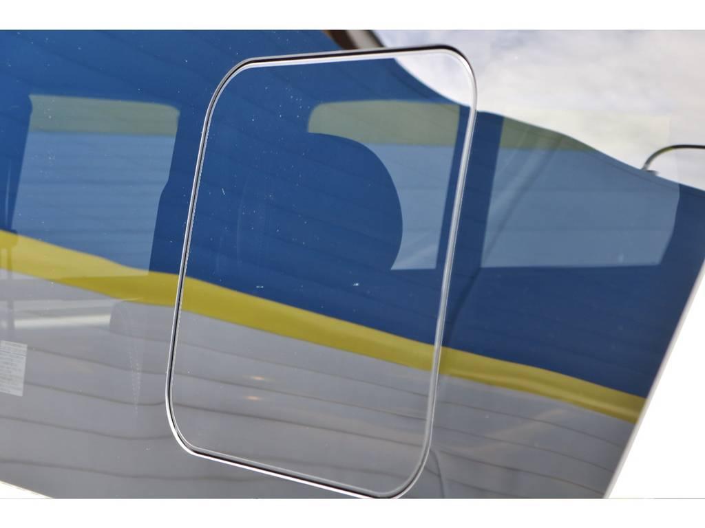 換気塔出来る小窓付き! | トヨタ ハイエースバン 2.0 スーパーGL ダークプライムⅡ ロングボディ 小窓付き