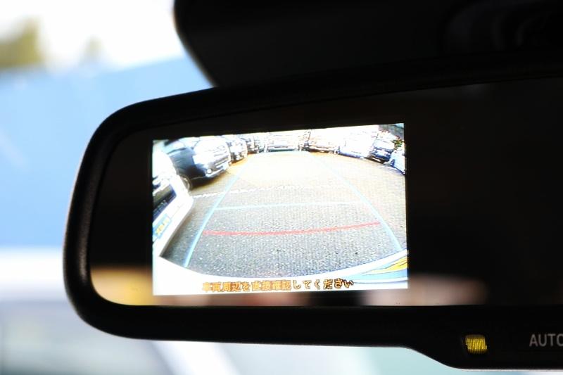 バック時に安心なバックカメラ付き! | トヨタ ハイエース 2.7 GL ロング ミドルルーフ セーフティー付き Ver2内装カスタム